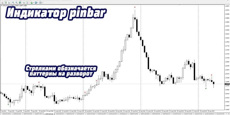 Индикатор PinBar
